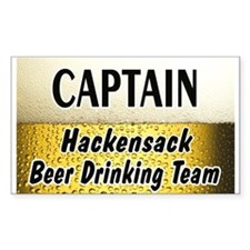 Hackensack Beer Drinking Team Decal