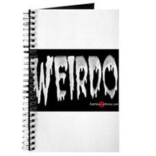 Weirdo in the Dark Journal