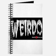 Weirdo in the Dark Journal