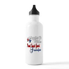 Coast Guard Grandpa Water Bottle
