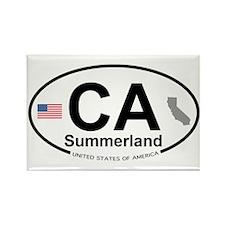Summerland Rectangle Magnet