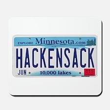 Hackensack License Plate Mousepad