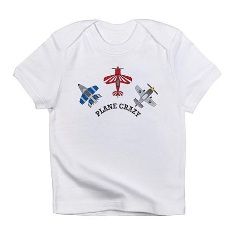 Aviation Plane Crazy Infant T-Shirt