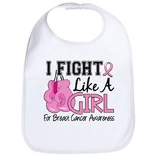 Licensed Fight Like a Girl 15.5 Bib