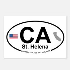 St. Helena Postcards (Package of 8)
