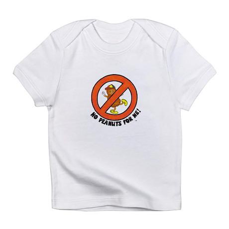 No Peanuts For Me! Infant T-Shirt