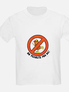 No Peanuts For Me! T-Shirt