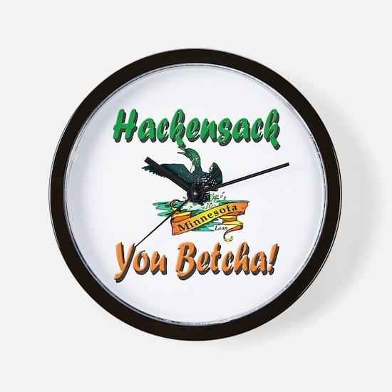 Hackensack Loon Shop Wall Clock