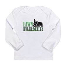 Lawn Farmer Long Sleeve Infant T-Shirt