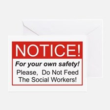 Notice / Social Worker Greeting Card