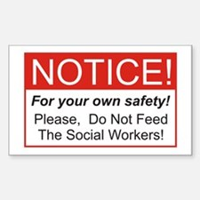 Notice / Social Worker Decal