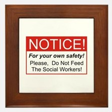 Notice / Social Worker Framed Tile