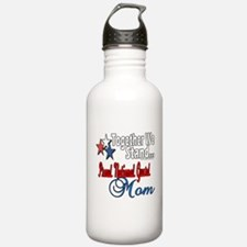 National Guard Mom Water Bottle