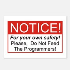 Notice / Programmers Postcards (Package of 8)