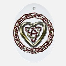 Celtic Heart Ornament (Round)