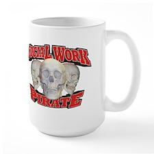 Social Work Pirate Mug