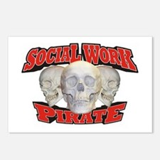 Social Work Pirate Postcards (Package of 8)