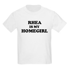 Rhea Is My Homegirl Kids T-Shirt