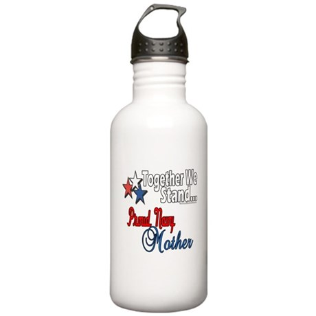 Proud Navy Mother Stainless Water Bottle 1.0L