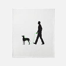 Manchester Terrier Throw Blanket