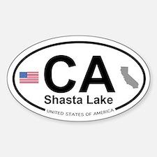 Shasta Lake Decal