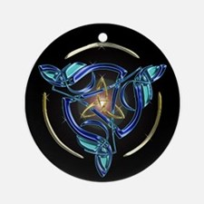 The Triquetra Ornament (Round)