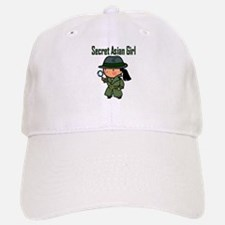 Secret Asian Girl II Baseball Baseball Cap