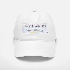 It's All Relative Baseball Baseball Cap