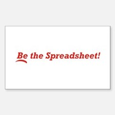 Be the Spreadsheet Decal