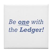 Ledger / Be one Tile Coaster