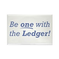 Ledger / Be one Rectangle Magnet