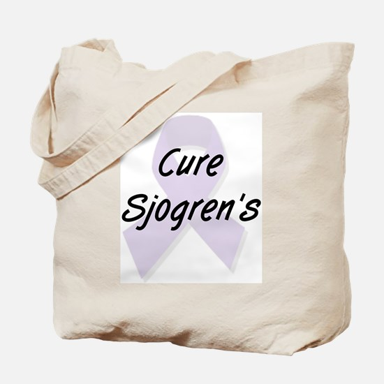 Cure Sjogren's Tote Bag