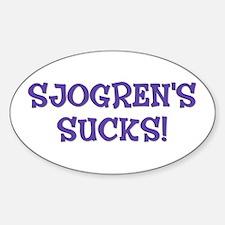 Sjogren's Sucks! Decal