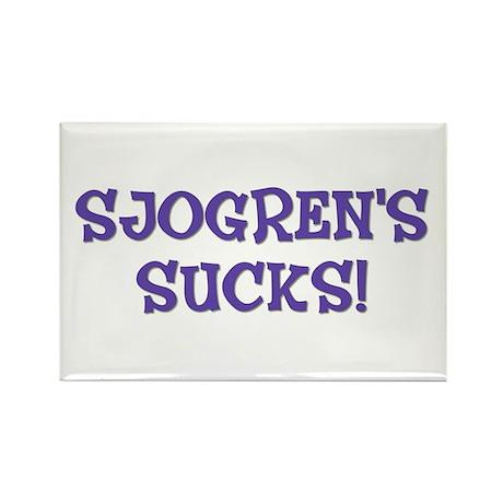 Sjogren's Sucks! Rectangle Magnet (10 pack)