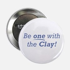 """Clay / Be one 2.25"""" Button"""