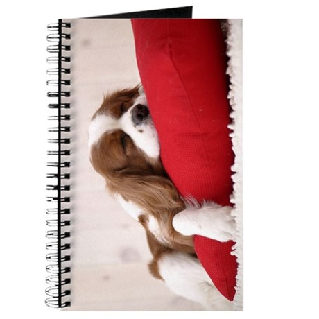 SLEEPING SPANIEL PUPPY Journal