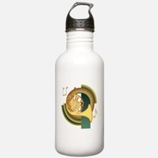 French Horn Deco Water Bottle
