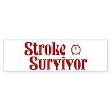 Stroke Survivor Bumper Sticker