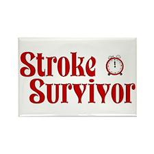 Stroke Survivor Rectangle Magnet (100 pack)