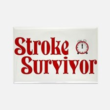 Stroke Survivor Rectangle Magnet