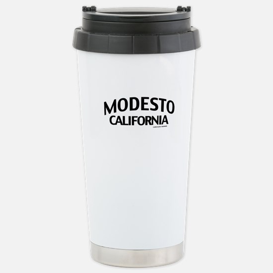 Modesto Stainless Steel Travel Mug