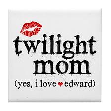 Twilight Mom Tile Coaster