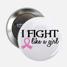 """Licensed Fight Like a Girl 18.7 2.25"""" Button"""