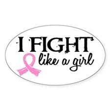 Licensed Fight Like a Girl 18.7 Decal
