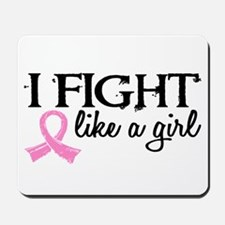 Licensed Fight Like a Girl 18.7 Mousepad