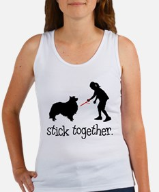Shetland Sheepdog Women's Tank Top