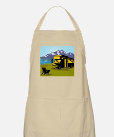 Fly fisherman fishing Apron