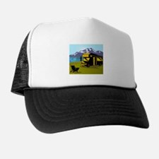 Fly fisherman fishing Trucker Hat
