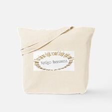 Vertigo Awareness Tote Bag