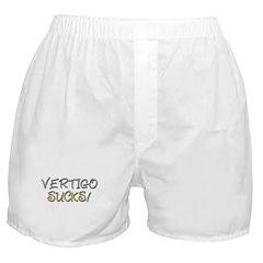 Vertigo Sucks! Boxer Shorts